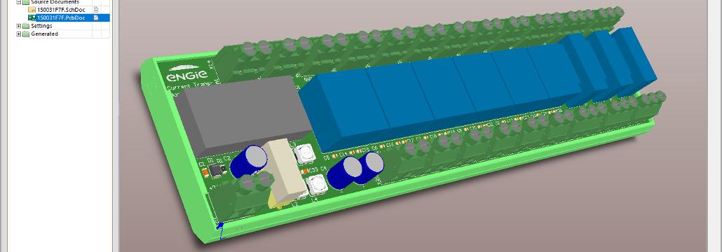 Altium Designer Electronic PCB 3D