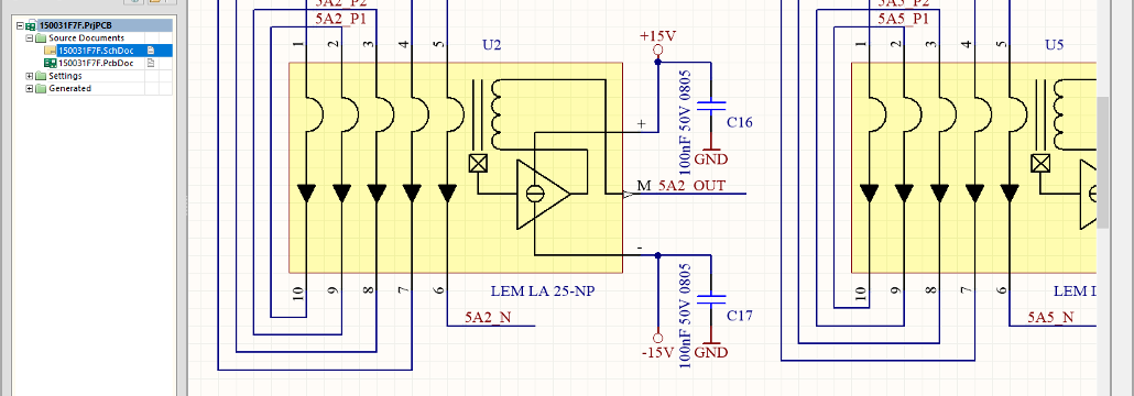 Altium Designer Electronic Schematic Design